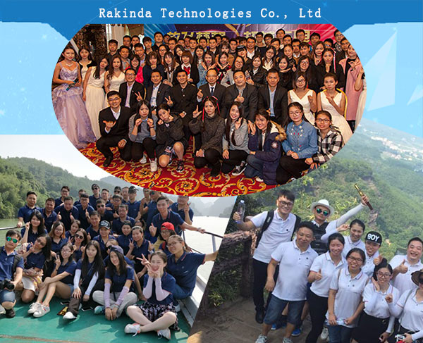 RAKINDA has professional R&D team and we have strong technical support and rich experience in intelligent firmware R&D