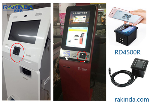 RD4500R Kiosk Barcode Scanner Is Welcomed In The Retail