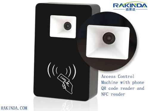 Access Control Machine with phone QR code reader and NFC reader