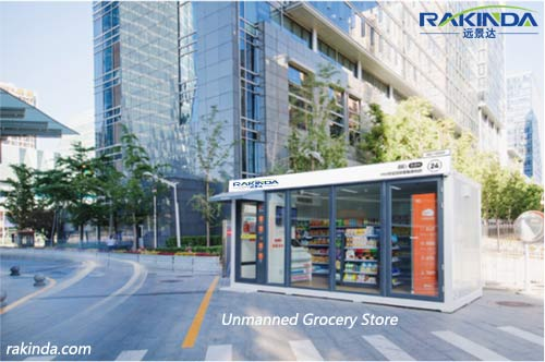 Rakinda Unmanned Grocery Store Goes Live