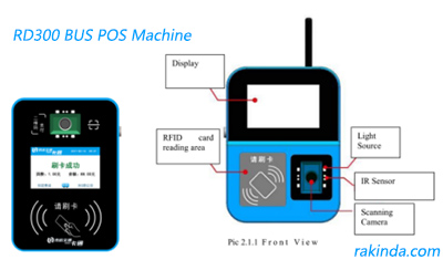 RD300 bus pos machine