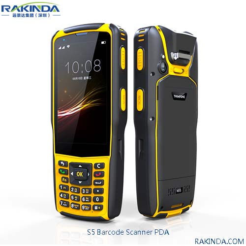 2D Barcode Scanner PDA Handheld Terminal in the Industrial Application